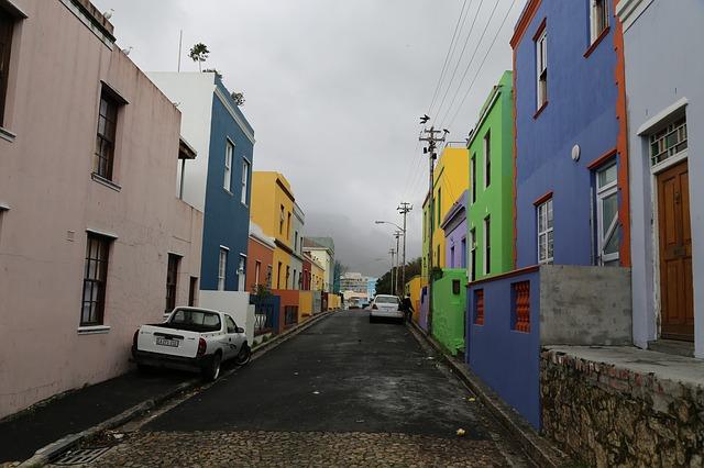 Bo Kaap Zuid-Afrika