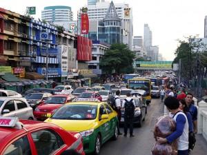 Bangkok verkeer
