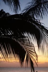 zonsondergang Isla Mujeres