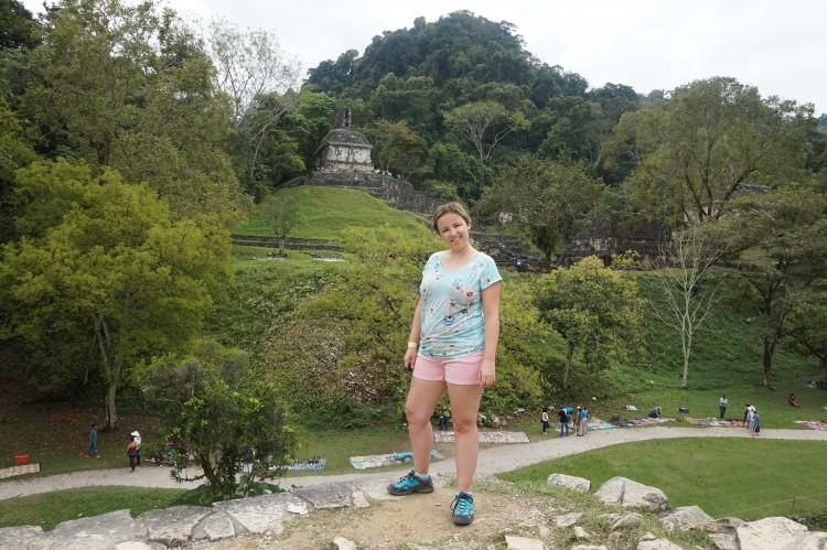 Palenque ruïnes