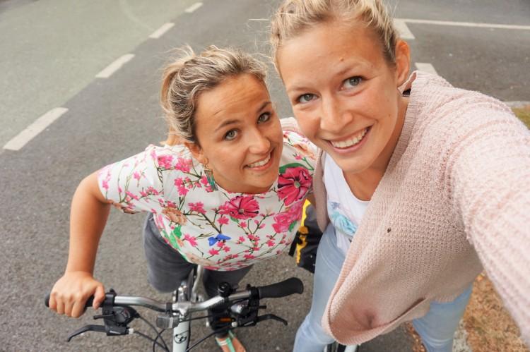 fietsen in Dublin