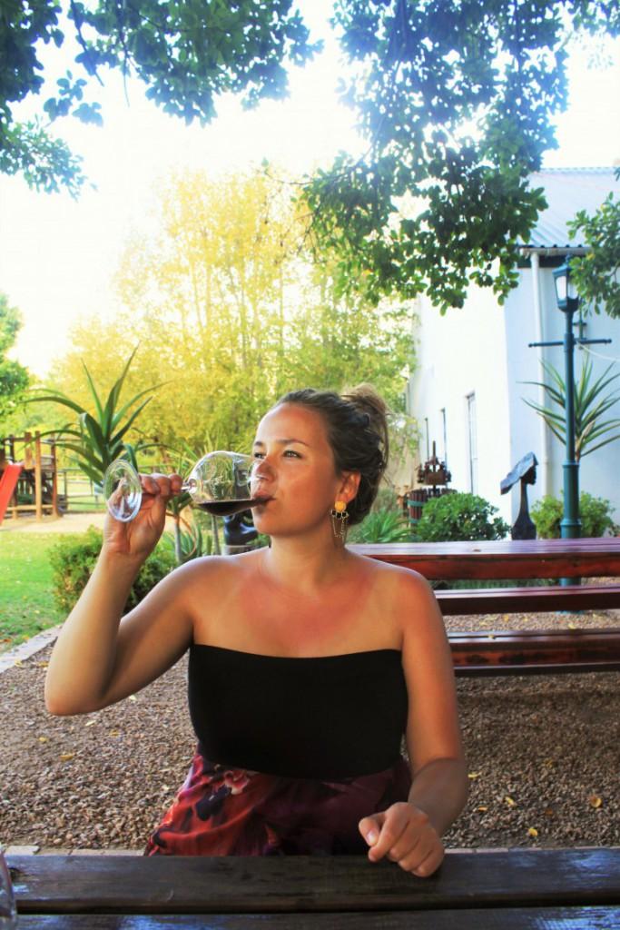 Wijn proeven Zuid-Afrika