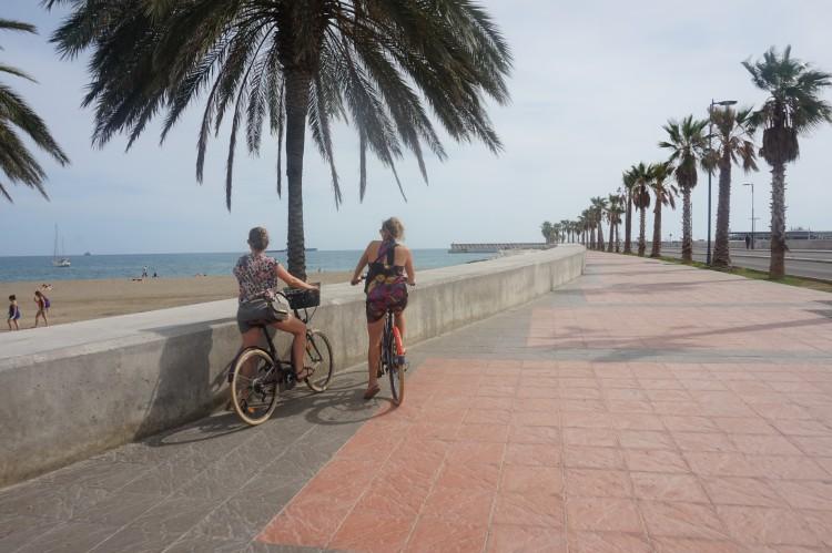 Fietsen in Malaga