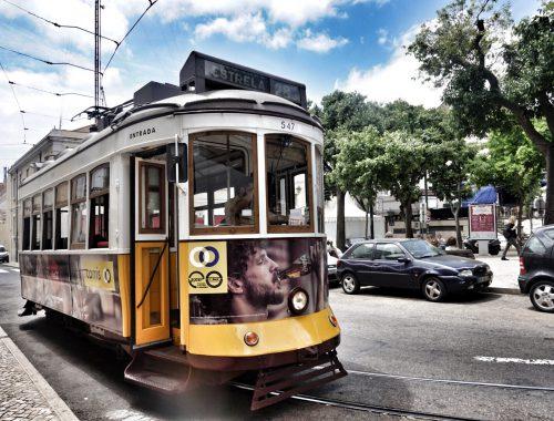 Tram 28 Lissabon