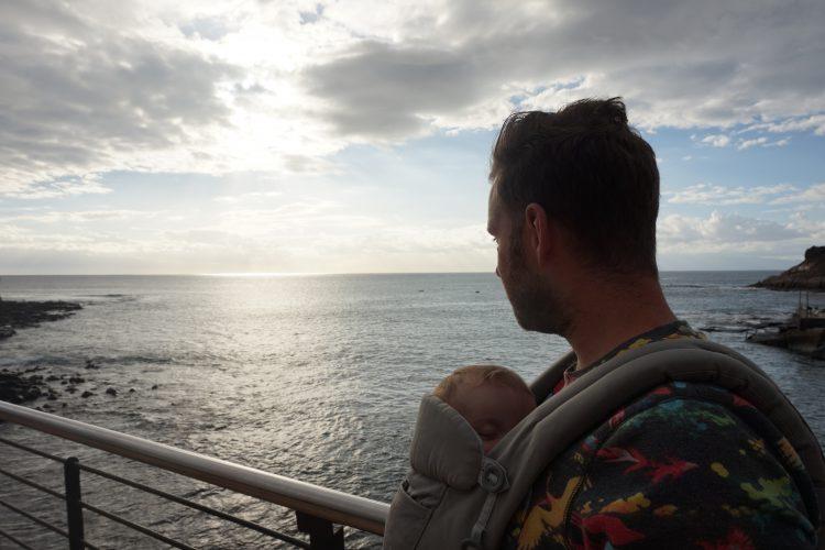 Tenerife met baby