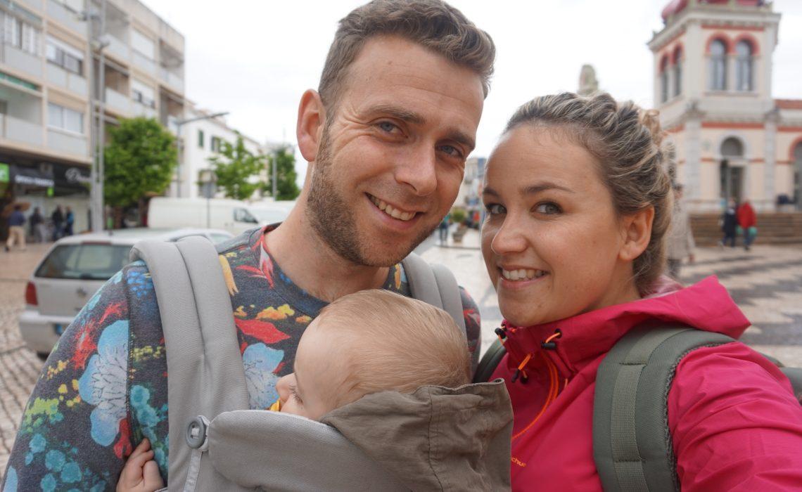 Algarve met baby