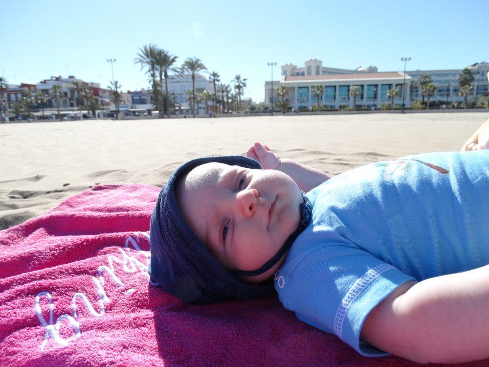 Valencia met baby