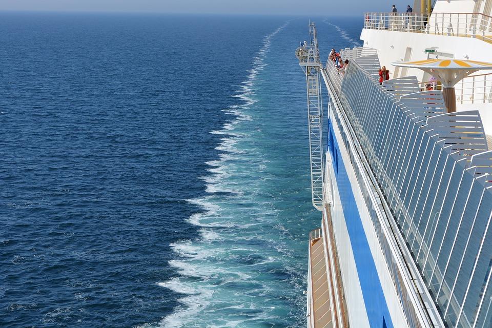 op cruise met kinderen