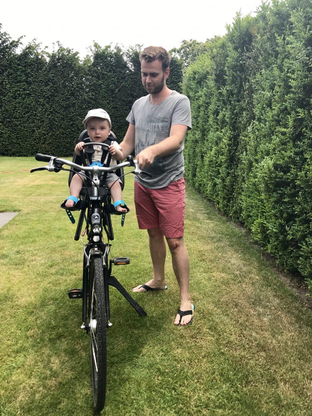 fietsen met het gezin