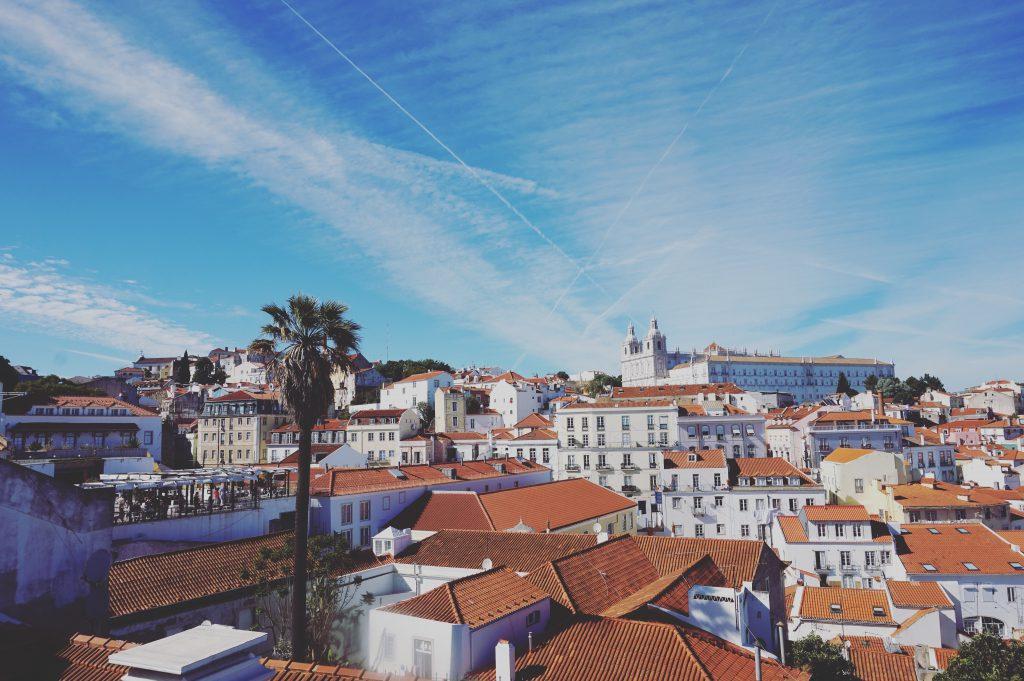 Stadgezicht Lissabon