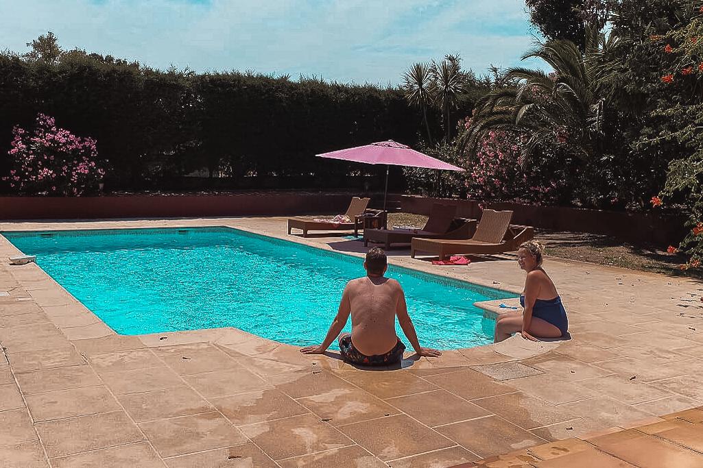 vakantiehuis aan de Côte D'Azur