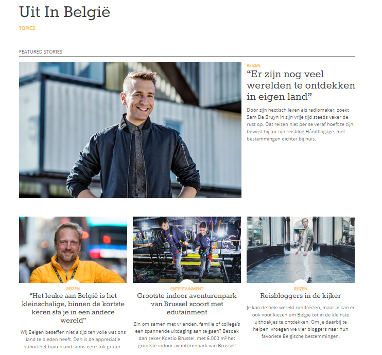 Uit In België
