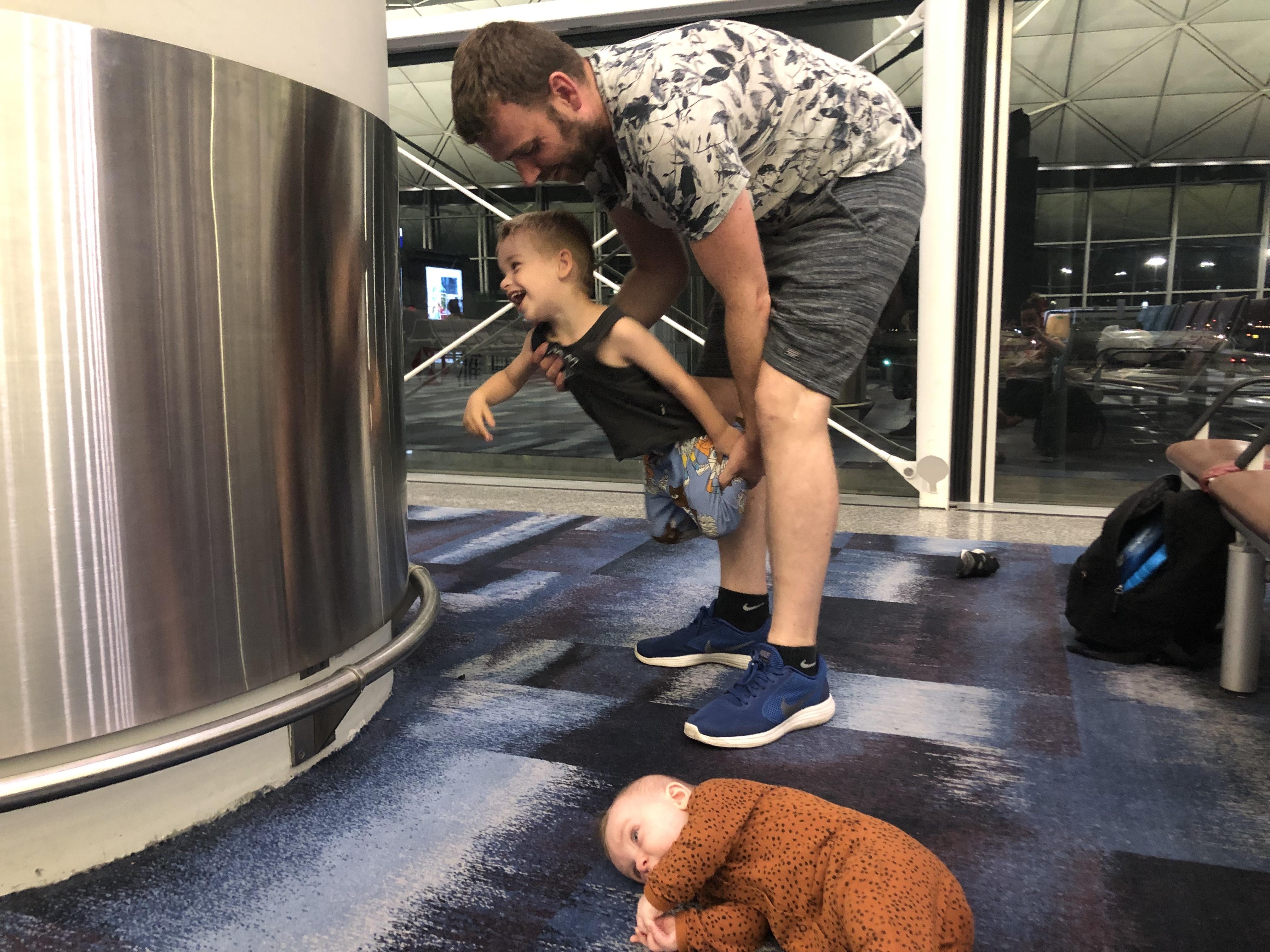 met baby en peuter naar Bali