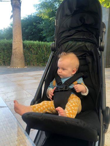 handige buggy voor op reis